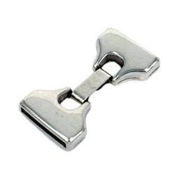 Cuenta DQ 2-teilig mit Hakenverschluss 19mm Silber