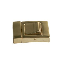 Cuenta DQ Closure 2-piece 19mm gold color