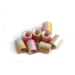 Cuenta DQ Tschechische Glasperlen rohr tube perle