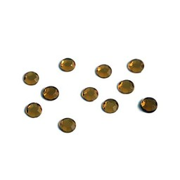 Preciosa crystals MC Flatback strass steen ss20 topaas