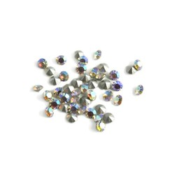 Preciosa crystals pointed stone MC Optima pp8,5 crystal ab 1,5mm