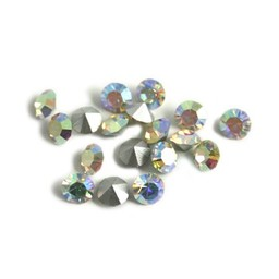Preciosa crystals pointed stone MC Optima pp19 crystal ab 2.5mm