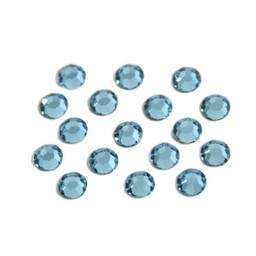 Preciosa crystals MC Flatback strass steen ss16 (3.8-4.0mm) aqua bohemica