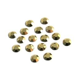 Preciosa crystals MC Flatback Strass Steine ss20 (4.60-4.80mm) crystal aurum