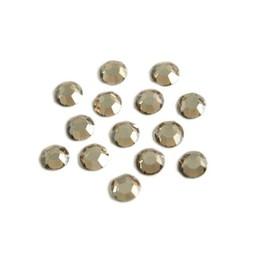 Preciosa crystals MC Flatback strass steen ss20 (4.60-4.80mm) honey