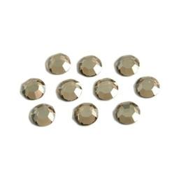 Preciosa crystals MC Flatback strass steen ss30 (6.4-6.6mm) honey