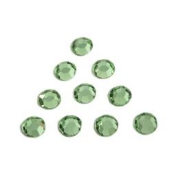 Preciosa crystals MC Flatback strass steen ss30 (6.4-6.6mm) peridot