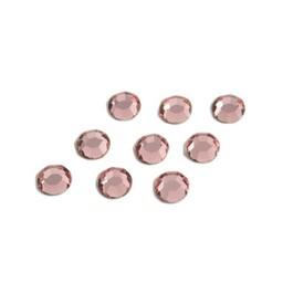 Preciosa crystals MC Flatback strass steen ss30 (6.4-6.6mm) licht rose