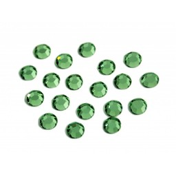 Preciosa crystals MC chaton Rhinestones ss20 (4.60-4.80mm) green tourmaline stone