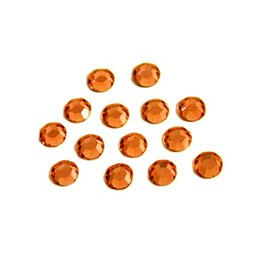 Preciosa crystals Rhinestone MC chaton stones ss20 (4.60-4.80mm) orange