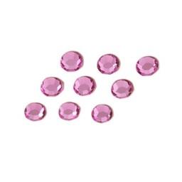 Preciosa crystals MC chaton strass steen ss30 (6.4-6.6mm) roze