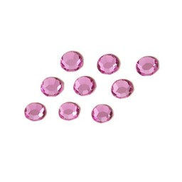 Preciosa crystals MC chaton Strass Steine ss30 (6.4-6.6mm) roze