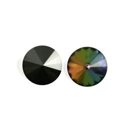 Preciosa crystals Punt rivoli 14mm Vitrail medium