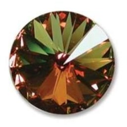Preciosa crystals MC rivoli 12mm Crystal Sahara