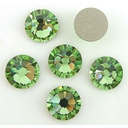 Swarovski elements ss34 Peridot