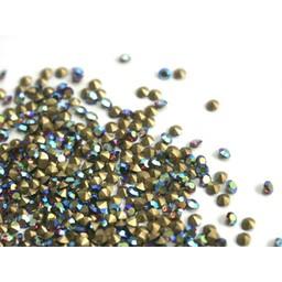 Preciosa crystals pointed stones pp8 amethist AB 1.4mm