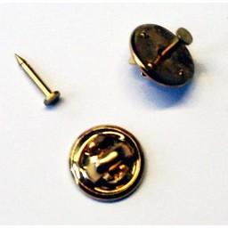 Taste Steckerkappe 12mm Stiftplatte 2mm Goldfarbe