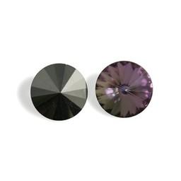 Preciosa crystals Punkt Rivoli 16mm Vitrail Light