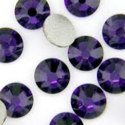 Swarovski elements ss16 purple velvet