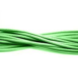 Cuenta DQ Leerveter 2mm rond mint groen 1 meter