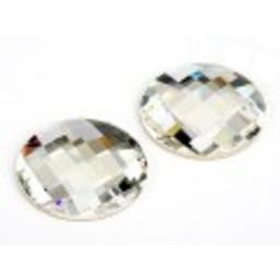 Swarovski elements chess crystal rond 30mm
