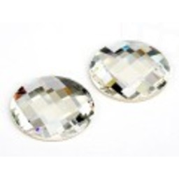 Swarovski elements chess crystal round 30mm