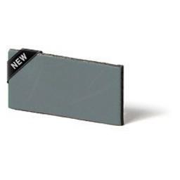 Cuenta DQ leather strips Dutch tanned 5mm Lead green/grey 5mmx85cm