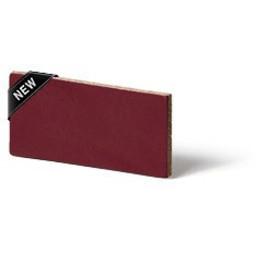 Cuenta DQ Lederband Niederlandisch  Spaltleder 5mm Rubinrot 5mmx85cm