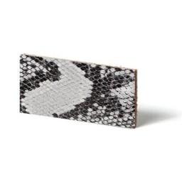 Cuenta DQ Leerstrook Nederlands splitleer 13mm Grijs reptiel-snake 13mmx85cm
