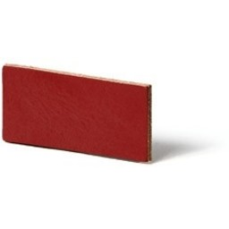 Cuenta DQ flach lederband DIY Riemen 25mm Red 25mmx85cm