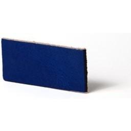 Cuenta DQ flach lederband DIY Riemen 35mm Cobalt 35mmx85cm