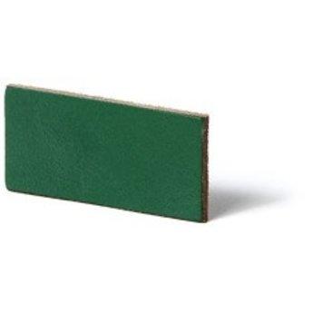 Cuenta DQ flach lederband DIY Riemen 35mm Gr?n 35mmx85cm