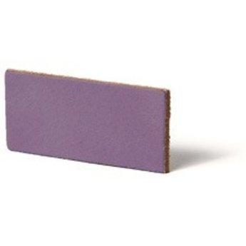 Cuenta DQ flach lederband DIY Riemen 35mm Lavender 35mmx85cm