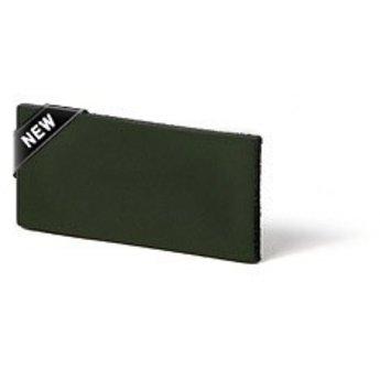Cuenta DQ flach lederband DIY Riemen 35mm Blau 35mmx85cm