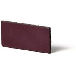 Cuenta DQ leather strips Dutch tanned 5mm Plum purple 5mmx85cm