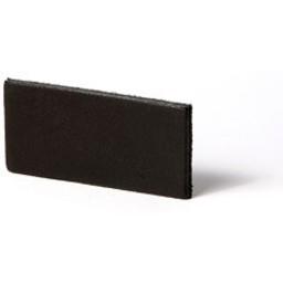 Cuenta DQ Leather DIY bracelet straps 6mm Black 6mmx85cm