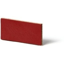 Cuenta DQ flach lederband DIY Riemen 8mm Red 8mmx85cm
