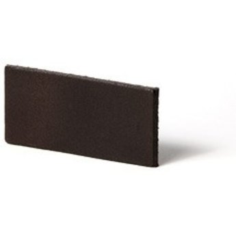 Cuenta DQ Leerstrook Nederlands splitleer 13mm  Donker bruin 13mmx85cm