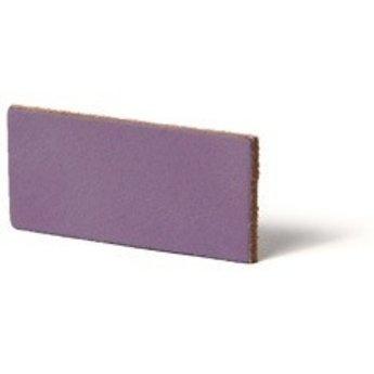 Cuenta DQ flach lederband DIY Riemen 20mm Lavender 20mmx85cm