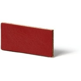 Cuenta DQ flach lederband DIY Riemen 20mm Red 20mmx85cm