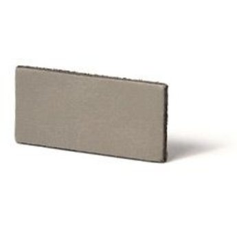 Cuenta DQ Leathercord Dutch split leather 25mm taupe 25mmx85cm