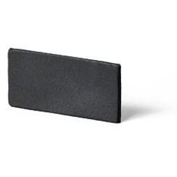 Cuenta DQ Lederband Niederlandisch Spaltleder 25mm Antracite 25mmx85cm