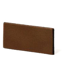 Cuenta DQ flach lederband DIY Riemen 35mm brown 35mmx85cm