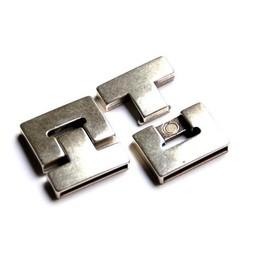 Cuenta DQ Versluss Magnet 25x3mm Silber