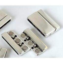 jolie Magnetverschluss 29mm silber