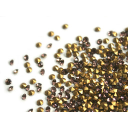 Preciosa crystals spitze Steine pp10 amethist 1,6mm