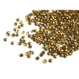 Preciosa crystals spitze Steine pp10 topas 1,6mm