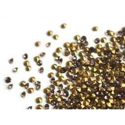 Preciosa crystals spitze Steine pp10 amethist AB 1,6mm