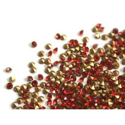 Preciosa crystals pointed stone pp8 ight siam 1.4mm