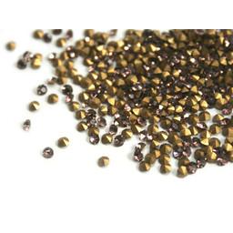 Preciosa crystals puntsteentje pp8 topas 1.4mm